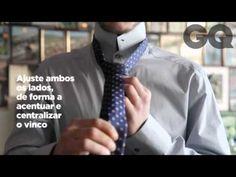 Guia essencial da gravata: vídeo explica como dar um nó universal.