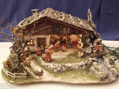1 million+ Stunning Free Images to Use Anywhere Christmas Crib Ideas, Church Christmas Decorations, Christmas Village Sets, Christmas Nativity Scene, Christmas Art, Christmas Manger, Nativity Scenes, Nativity Stable, Nativity Crafts