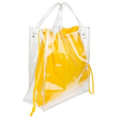 clear tote & utility bag