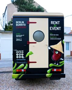 BBC FOOD TRUCK  - RENT for EVENT -  info@berlin-burrito-company.com