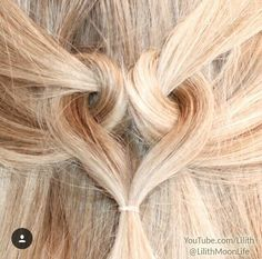 Watch my full tutorial on 👉 👀🎬🎥 and TAG friends who would like this hairstyle 👧👱👍 For extra length and volume I'm wearing extensions ❤ Lilith Moon Hairstyles, Mom Hairstyles, Holiday Hairstyles, Casual Hairstyles, Elegant Hairstyles, Everyday Hairstyles, Pretty Hairstyles, Long Hai, Heart Hair