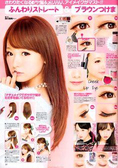 Mizuki Nishikawa hair / makeup tutorial