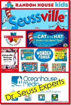 Dr. Seuss Experts: The best Official Dr. Seuss websites, apps, games and stores.