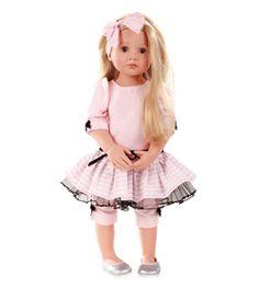 Gotz go1266121 Poupée Gotz Luisa articulée jupe tulle 50cm chez poupees.fr #dolls #poupées