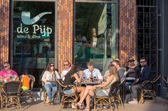De Pijp Wine & Dine, Hoge der A, Groningen. The Netherlands. Heerlijke wijnen en genieten op het terras!