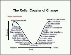 Roller Coaster of Change > acceptance, moving onto next level (recovery)