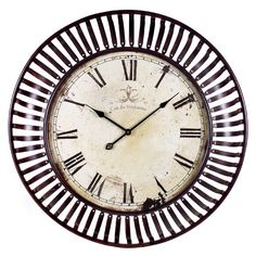 "Found it at Wayfair - Oversized 35"" Banded Wall Clock"