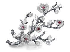 jewellery design, diana zhang, jewellery,jewel,Biennale des Antiquaires,antique,竹,荷花