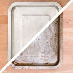 Clean Even Your Dirtiest Pans With This Insane Dryer Sheet Hack Dryer Sheet Hacks, Buzzfeed Video, Clean Up, Cleaning Hacks, Plastic Cutting Board, Cool Stuff, Household Tips, Sheet Pan, Organize