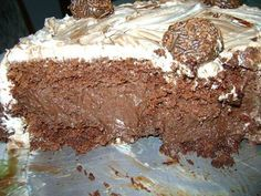 Receita de Bolo-mousse de Chocolate perfeito - Show de Receitas