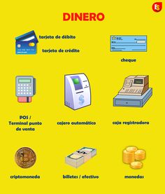 Learn Spanish words related to money. For more vocabulary, visit Everyday Spanish on YouTube. Just click on the pic.