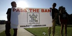 By Marice Richter                DALLAS, Nov 5 (Reuters) - Voters approved a ban on hydraulic  fracturing in the North Texas town of Denton on Tuesday, making  it the first city in the Lone Star State to outlaw the oil and  gas extraction technique b...