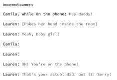 #DaddyLauren #camren #tumblr