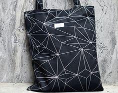 Black Diamond High Quality Canvas tote bag