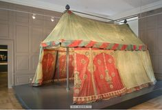 example is the Esterhazy Tent in Forchtenstein Castle