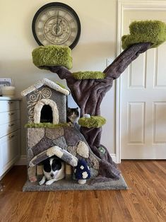 Crazy Cat Lady, Crazy Cats, I Love Cats, Diy Cat Tree, Cat Towers, Cat Room, Cat Condo, Pet Furniture, Catio