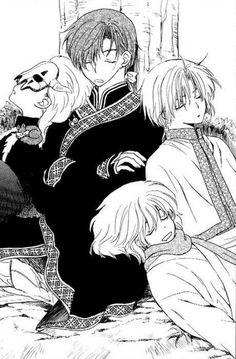 The four dragons | Akatsuki no Yona