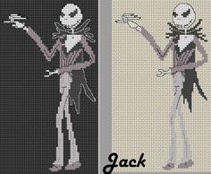 los gráficos del gato: JACK SKELETON