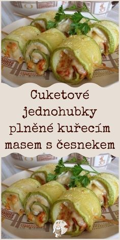 Zucchini, Chicken Recipes, Food And Drink, Appetizers, Low Carb, Pizza, Menu, Dining, Cooking
