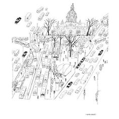 The Odenplan poster is illustrated by the famous Swedish illustrator Olle Eksell. The poster is showing a motif of the area Odenplan in the capital city Stockholm with all its traffic and movement. The poster is made of environmentally friendly paper and fits perfect as a stylish and timeless detail in most environments. Combine it together with other well-known prints designed by Olle Eksell.