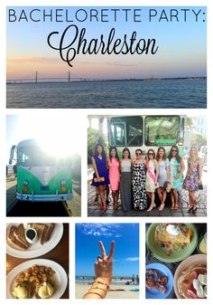 Charleston, South Carolina Bachelorette Party Ideas!!