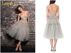 Bride and Chic | Modern Wedding Ideas By Leading UK Wedding Blog // sheer grey tulle