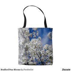 Bradford Pear Blooms Tote Bag