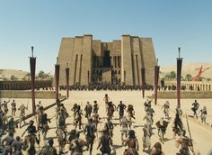 10,000 BC (2008). Roland Emmerich returns to some of the same themes as Stargate (1994), with an insurrection of primitive people against overlords that dwell in pyramids and claim to be gods.