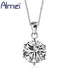 Collares Declaración Collar de Diamante de LA CZ de plata Bisutería Vintage Gargantilla Collares de Cristal de Las Mujeres Joyas Colar Collier Femme N321