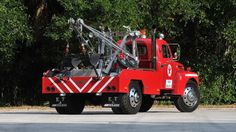 1949 Ford Tow Truck presented as lot at Kissimmee FL 2013 - Vintage Trucks, Old Trucks, Tow Truck, Fire Trucks, Towing And Recovery, Classic Trucks, Classic Cars, Manual Transmission, Dream Cars