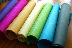 PAPER LOKTA plain decorative foolscrap paper 50x75cm 20x30
