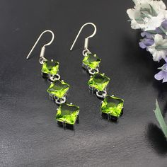Hermosa Jewelry Classic Fashion PERIDOT 925 Sterling Silver Wedding Party Women Earrings HK219. Yesterday's price: US $19.97 (16.44 EUR). Today's price: US $16.97 (14.00 EUR). Discount: 15%.