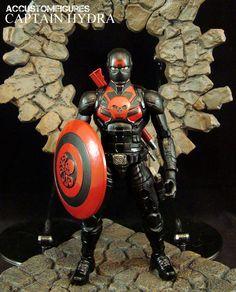 Captain Hydra (Captain America Concept) (Marvel Legends) Custom Action Figure