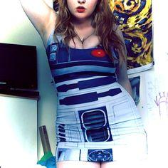 #R2D2 #Dress #StarWars