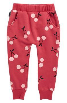 Sweet Cherries, Little Girls, Raspberry, Baby Kids, Cherry, Dots, Nordstrom, Sweatpants, Lounge