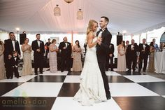 Black and White Dancefloor Dance Floor Wedding, Wedding Dancing, Bust A Move, Gray Weddings, First Dance, On Your Wedding Day, Wedding Events, Wedding Planner, Pure Products
