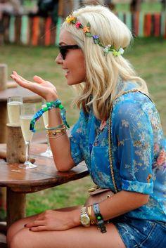 Katherine Jenkins At Glastonbury 2013
