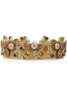 The only accessory you'll need this season -- a Dolce & Gabbana Swarovski crystal crown