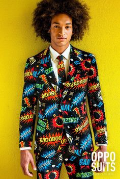 Some will say we make crazy suits - others might say we make funny suits. We, however, like to say we make different suits. Stylish Suit, Stylish Outfits, Crazy Suits, Costumes Bleus, Superman, Batman, Festivals, Wholesale Halloween Costumes, Jacket Style
