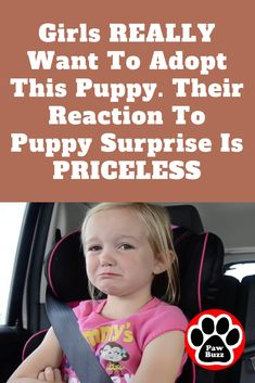 These little girls are crying in the car because they left the shelter without their favorite puppy — but mom and dad have a surprise in store 🐕😍 New Puppy, Puppy Love, Heart Touching Story, Touching Stories, Animals And Pets, Cute Animals, Rescue Puppies, Festivals Around The World, Dog Stories