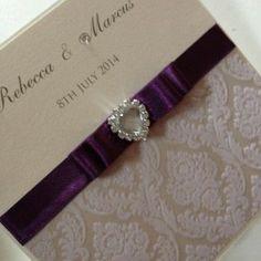 vintage glamour invitation