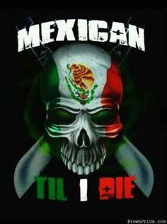 Well mexican In me, till I die lol I love you Anthony Harward Chicano Love, Chicano Art, Chicano Tattoos, Mexican Artwork, Cholo Art, Latino Art, Mexican Flags, Lowrider Art, Mexican Heritage