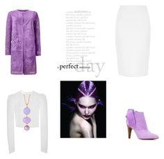 purple my love! by marifimarina on Polyvore featuring polyvore fashion style Brock Collection Drome Givenchy Roberto Cavalli Alexandra Alberta Wella clothing