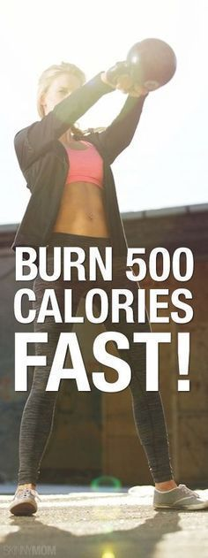 Burn those calories quickly with these moves!