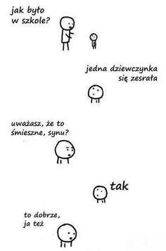 Very Funny Memes, Funny Jokes, Best Memes, Best Quotes, Polish Memes, Funny Mems, Sparks Joy, Smile Everyday, School Memes