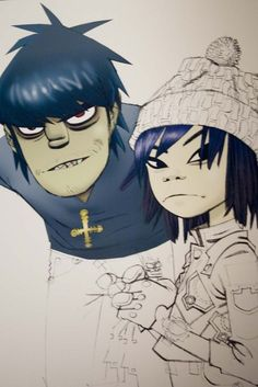 Rumour has it Murdoc claims to have adopted Noodle and 2D. I can imagine he's just the worst father ever.