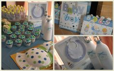 Click to Close Baby Boy, Baby Shower, Party, Kids, Decor, Babyshower, Young Children, Boys, Decoration