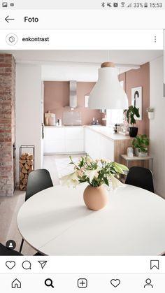 Home Decor For Small Spaces .Home Decor For Small Spaces White Kitchen Inspiration, Interior Design Inspiration, Home Decor Inspiration, Home Interior, Kitchen Interior, Home Decor Kitchen, Home Kitchens, Küchen Design, House Design