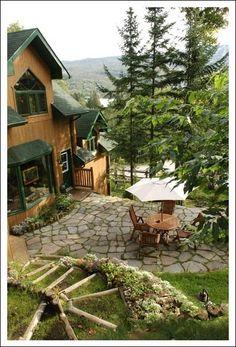 The Refuge Bed & Breakfast In Mont Tremblant, Quebec.