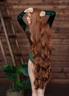 The next Rapunzel for the day is Our site is dedicated to the celebration of beautiful long hair. If you have long hair… hairstyles long for long long hairstyles hair braids hair curls hair cut with layers hair ideas hair styles hair volume long hair Really Long Hair, Long Red Hair, Grow Long Hair, Long Curly Hair, Curly Hair Styles, Natural Hair Styles, Long Hair Girls, Grow Hair, Face Shape Hairstyles